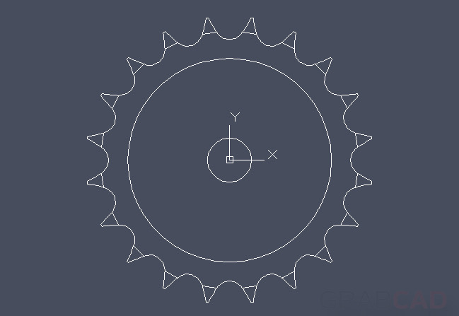 how to draw spur gear in autocad pdf
