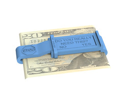 """Do You Really Need It?"" Locking Money Clip"