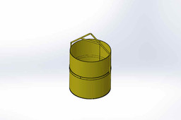 Concrete Bucket 80l