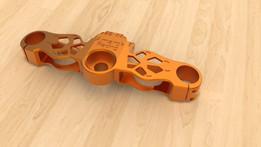 Amarok Racing triplle clamp version 2