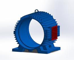 Industrial Motor Frame