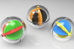 Toy Ball With Integrated Impeller