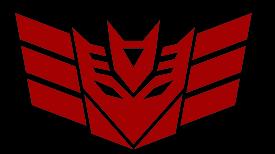 Transformers Decepticon Seeker Symbol 3d Cad Model Library Grabcad