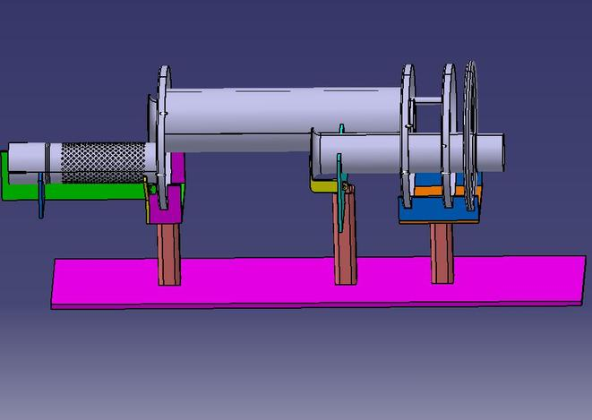 Prototype Exhaust welding jig