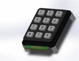 Numeric Keypad 3x4
