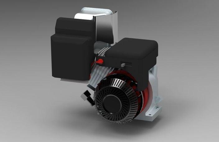 Briggs Stratton 10hp Engine For Baja Sae Stl Step