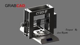 3D Printer - CT3D - Work In Progress - All lasercut