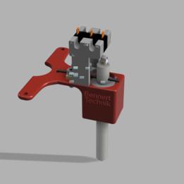 Scratch Device for 3D Printer - German Reprap Neo