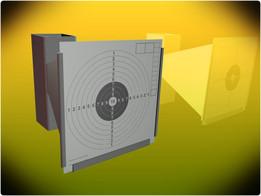 Holder for paper targets