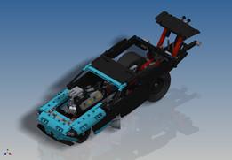 LEGO Technic - Drag Racer (42050)