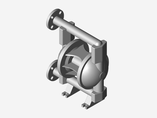 Diaphragm pump 3d cad model library grabcad load in 3d viewer uploaded by anonymous ccuart Choice Image