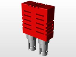 Transceiver 9x1-FST-650nm 125MBit-RPO-905 TR 650 ST 001