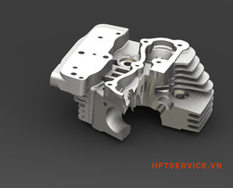 Housing - Twin Cylinder Head