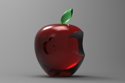 3D Apple Logo Model (Design Based on Saeed Kazmei's Model)