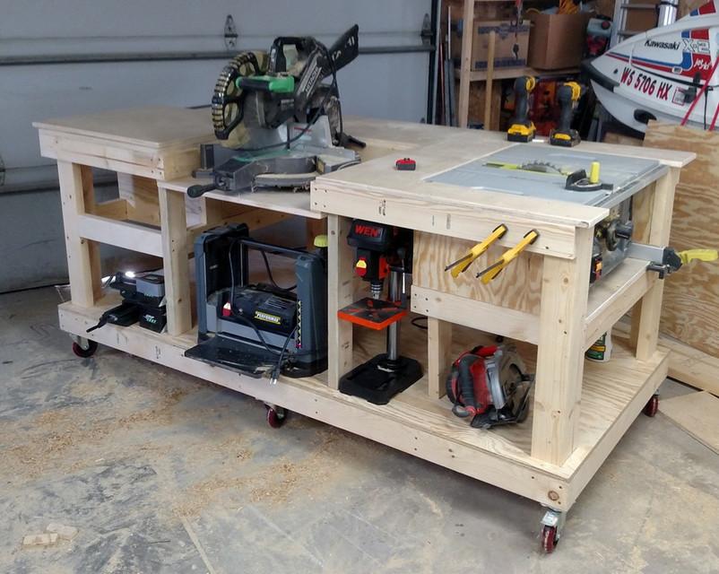 Outstanding Mobile Workbench 3D Cad Model Library Grabcad Evergreenethics Interior Chair Design Evergreenethicsorg