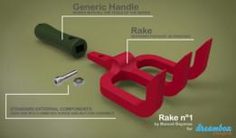 3D Printable Gardening Tool System