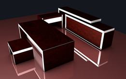 OFFICE FURNITURE SET ARIAS STYLE