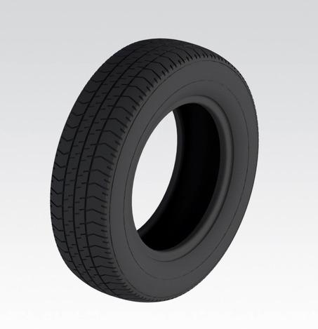 pneu 165 70 r13 tire 165 70 r13 stl step iges solidworks 3d cad model grabcad. Black Bedroom Furniture Sets. Home Design Ideas