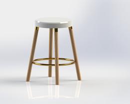 Bar stool circle