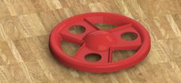 Toy car wheel RIM.