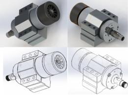 Brushless DC 48v CNC 12000 rpm