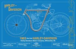 1903 Harley Davidson Front Wheel Hub