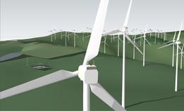 Wind Power Field