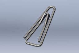Triangle paperclip