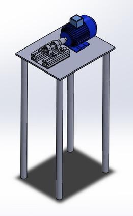 banco de pruebas para rodamientos