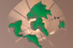 Global Stratasys Green world