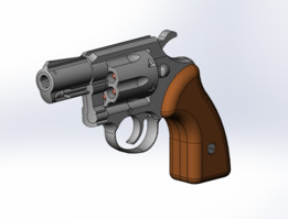 Revolver Mauser K50