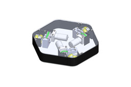 Omnidirectional platform for mobile robot