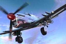 Fairey Firefly aeroplane WW2