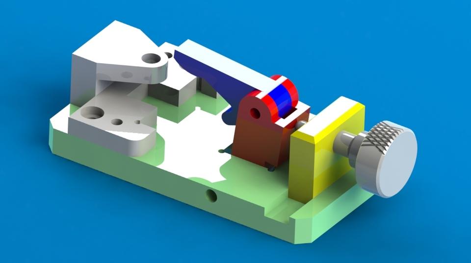 Jig Fixture 3d Cad Model Library Grabcad