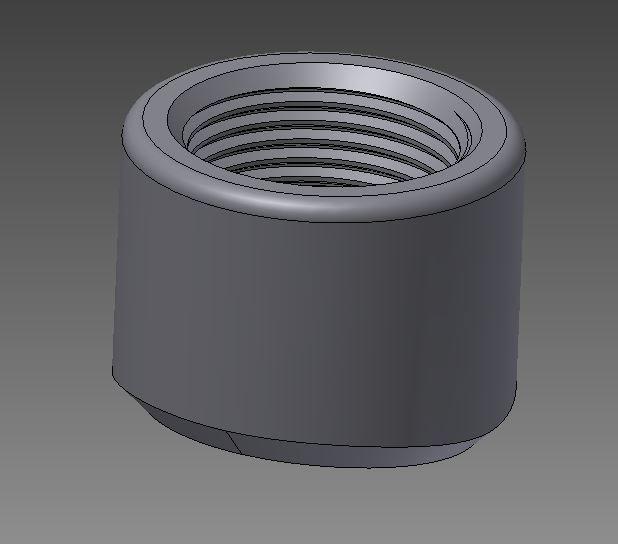 threadolet - Recent models | 3D CAD Model Collection