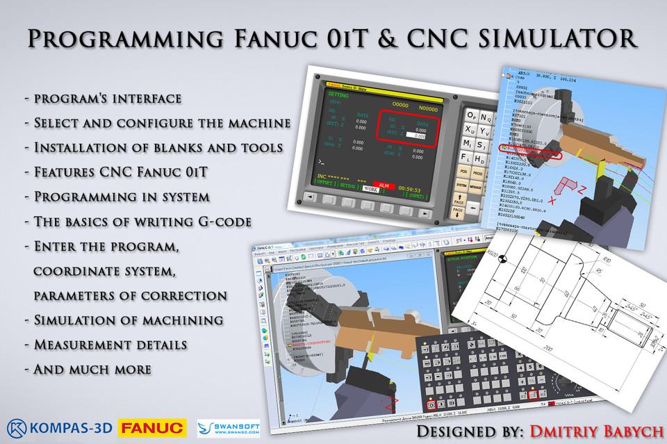 Programming Fanuc 0iT & CNC SIMULATOR   3D CAD Model Library