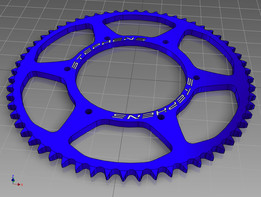 60 Tooth #40 chain sprocket