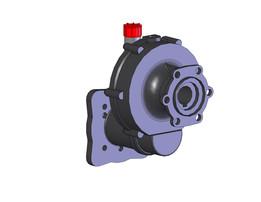 Réducteur R 1-6.44-BP 60-20-réf 5005-0227-00 pour pompe BP 105