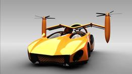 Terra Fugia-Flying CAR-Machozz