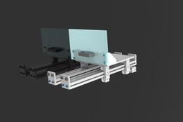 aluminum frame drawer