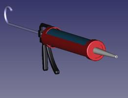 FreeCAD Acryll Gun