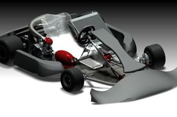 Kart ICC KZ1 shifter CRG Road Rebel