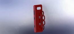 Brass knuckle case/kickstand