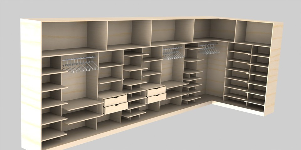 dressing l form 3d cad model grabcad. Black Bedroom Furniture Sets. Home Design Ideas
