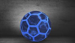 Lightened Football / Soccer ball
