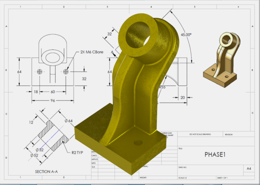 3d Tutorial Solidworks Model 3d Cad Model Library Grabcad