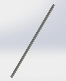 Knex Rod - Gray