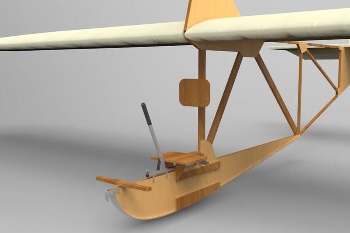 Norththrop Glider, Zogling, SG38