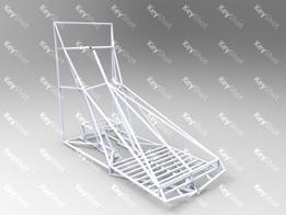 Snowmobile frame