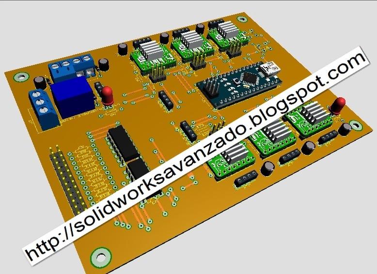 CNC 6 AXIS Arduino | 3D CAD Model Library | GrabCAD
